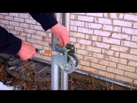 Tilt-Over Crank-Up Antenna Mast