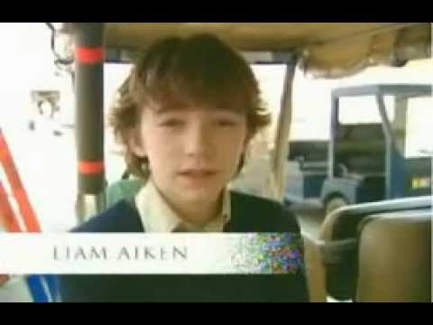 Liam Aiken Behind the Scenes of Lemony Snicket (2004)