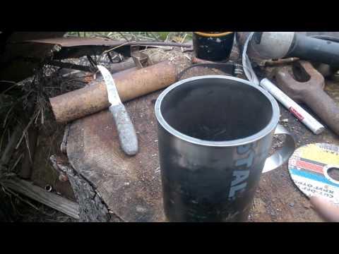 Термокружка из старого термоса своими руками