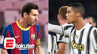 GRAB YOUR POPCORN: Lionel Messi vs. Cristiano Ronaldo highlights Champions League draw | ESPN FC