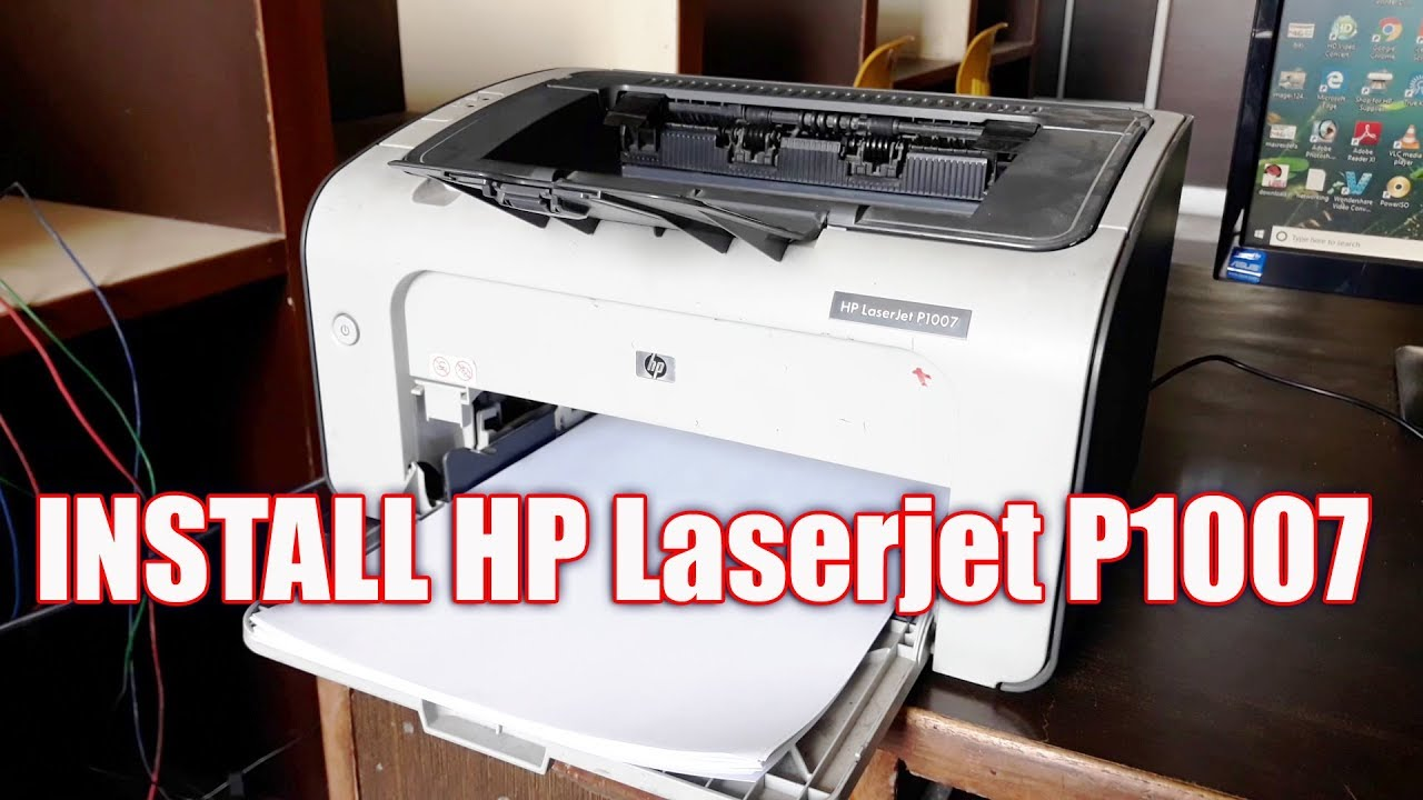 How to Download & Install HP Laserjet P1007 Printer Driver Configure it And  Print Easily