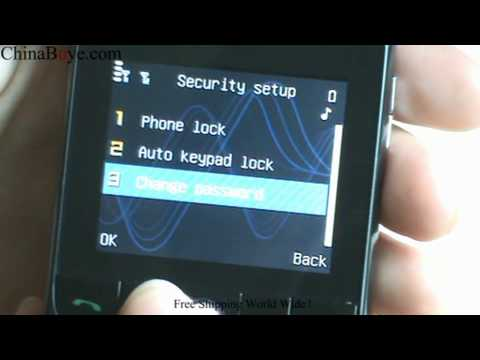 H603 Quad Band Dual Sim Cards TV Qwerty Cell Phone
