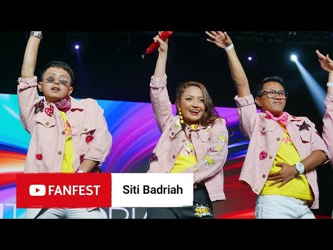 Siti Badriah  @ YouTube FanFest Jakarta 2018