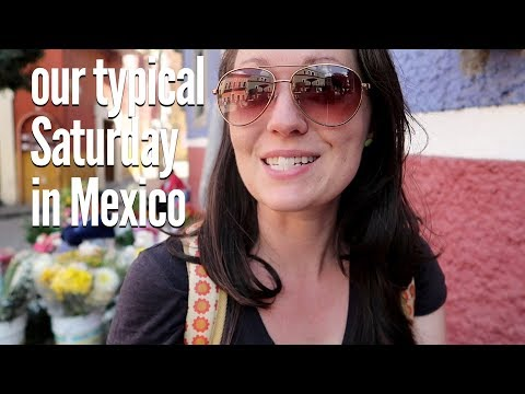Girls' Day! Shopping, Organic Market, and Vegan Food in Guanajuato, Mexico