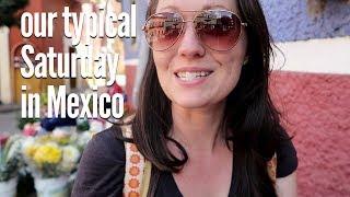 Girls' Day! Shopping, Organic Market, and Vegan Food in Guanajuato, Mexico