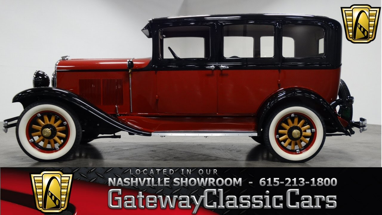 1929 Chrysler Series 66   Gateway Classic Cars of Nashville  106     1929 Chrysler Series 66   Gateway Classic Cars of Nashville  106   YouTube