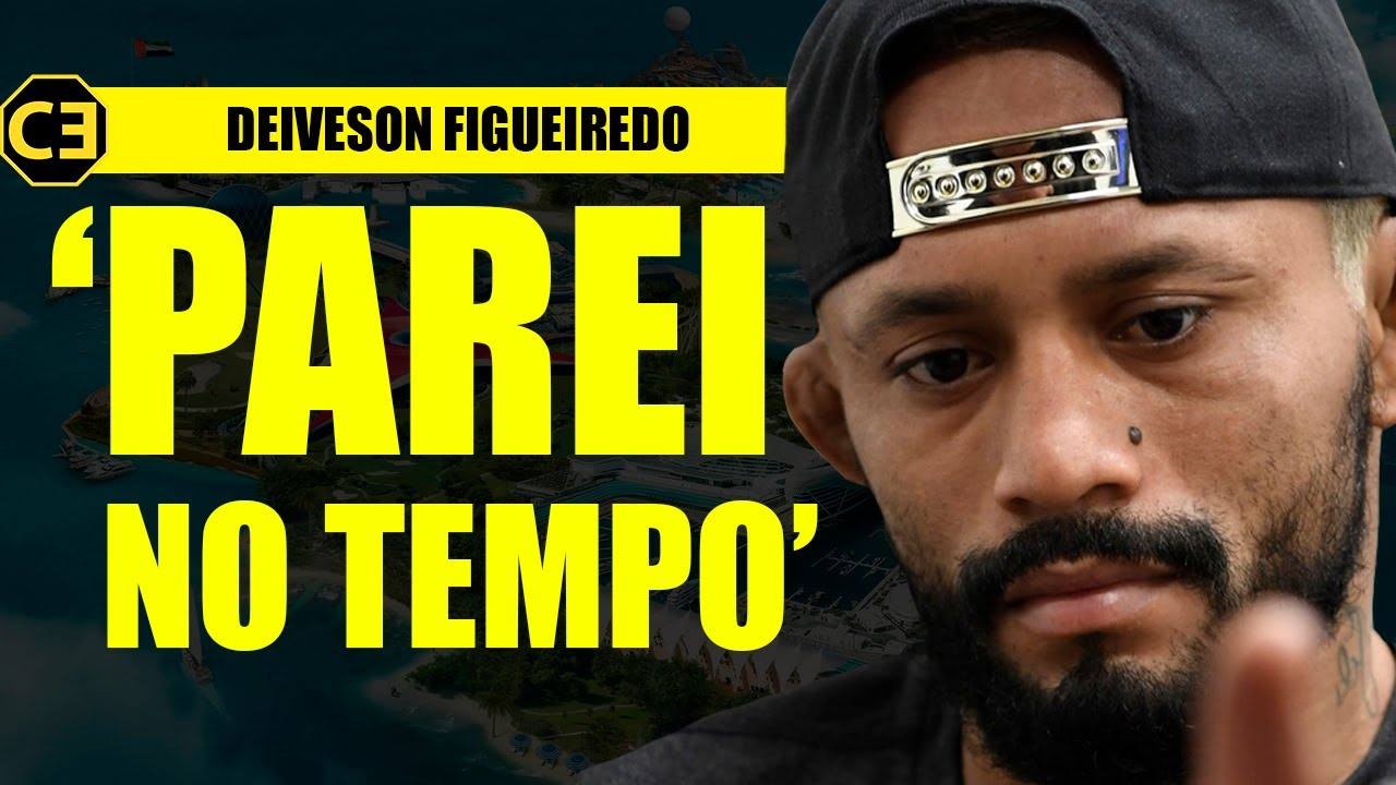 DEIVESON DESABAFA, RECONHECE ERROS E ANUNCIA MUDANÇA APÓS O UFC 263