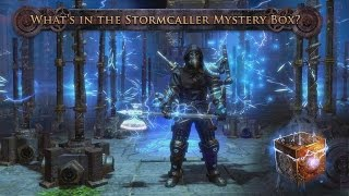 What's in the Stormcaller Mystery Box?