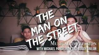 Michael pangilinan and Bugoy Drilon at The man one the Street Episode