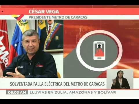 Presidente del Metro: Corte de cable de 30 KVA afecta el servicio