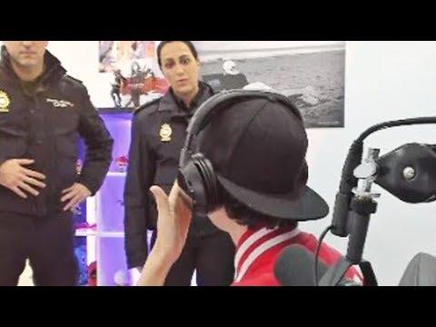 Explicación de lo ocurrido con la Policía