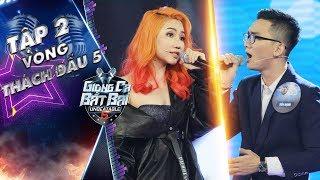 Giọng Ca Bất Bại | tập 2 vòng thách đấu 5: Orange làm đối thủ ngẩn ngơ, cháy hết mình với Bang Bang