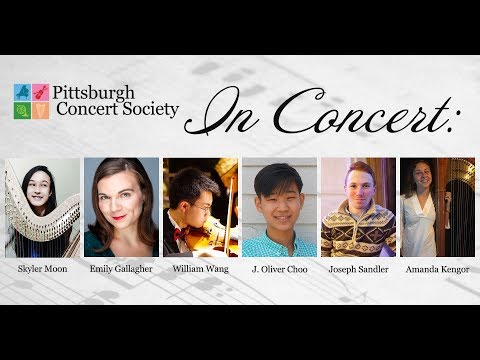 Pittsburgh Concert Society: Young Winners Recital - April 14, 2019 [live stream]