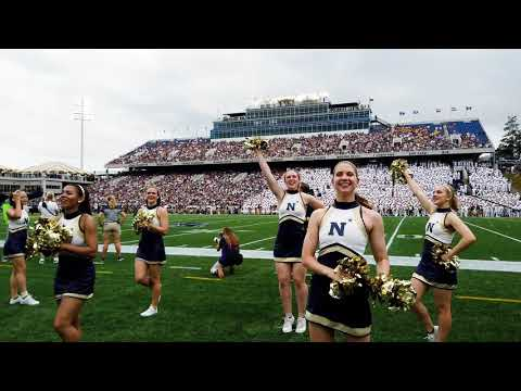 Navy - ECU September 14, 2019 Cheerleaders