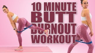 10 Minute BUTT BURNOUT WORKOUT with Sydney Cummings!