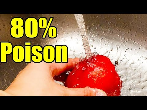 You are washing your VEGETABLES WRONG! How to remove pesticides from vegetables