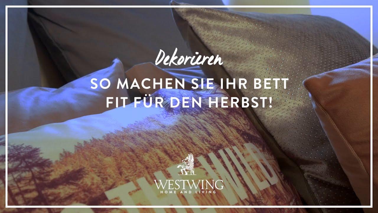 Gemütlicher Herbstlook fürs Schlafzimmer | WESTWING Style-Tipps ...