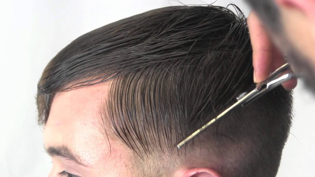 Men's Military Haircut Technique - YouTube