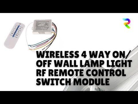 Remote control switch - YouTube