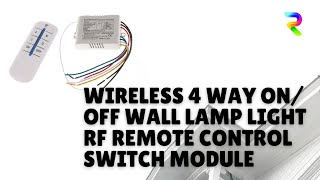 Remote control switch