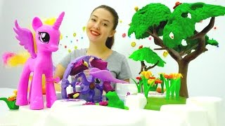 Сажаем цветы. Видео для детей. Веселая Школа.