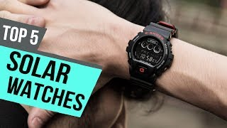 5 Best Solar Watches 2019 Reviews