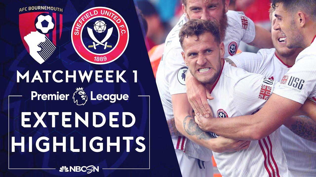 Bournemouth v. Sheffield United | PREMIER LEAGUE HIGHLIGHTS | 8/10/19 | NBC Sports