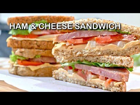 Easy Ham And Cheese Sandwich Recipe