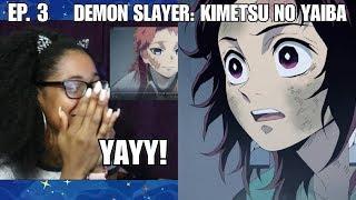 Demon Slayer: Kimetsu no Yaiba Episode 3 Reaction