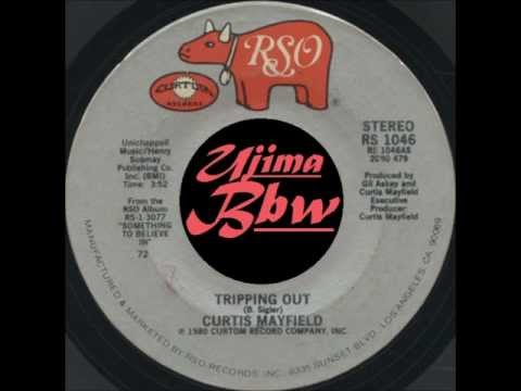 CURTIS MAYFIELD - Tripping Out - RSO RECORDS - 1980.wmv