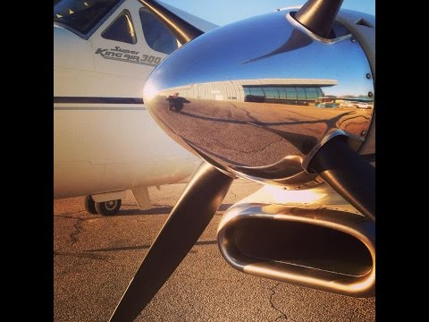 Part 1: King Air 300 trip from Griffith (05C) to Cleveland (KCLE).