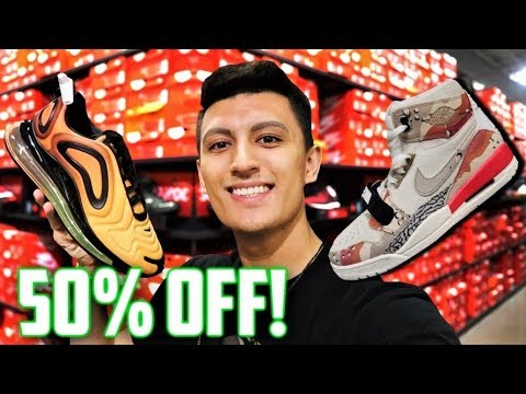 CHEAPEST Back To School SNEAKERS At NIKE And ADIDAS OUTLET?