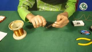 Build an Electromagnet in Urdu