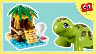 Lego Friends - Turtle's Little Oasis - 41019 - Stop Motion Build