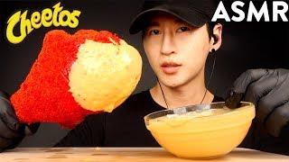 ASMR CHEESY HOT CHEETOS GIANT TURKEY LEG MUKBANG (No Talking) EATING SOUNDS  Zach Choi ASMR