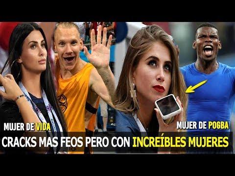 MIRA LOS CRACKS MAS FEOS DEL MUNDIAL CON LAS MUJERES MAS HERMOSAS, LA 2 TE SORPRENDERÁ