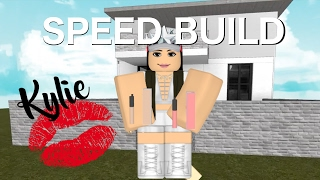 Roblox: Speed Build | Kylie Jenner MTV Cribs |