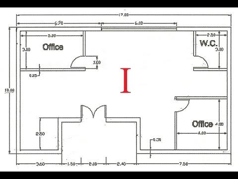 Autocad 2d 01 Como Fazer Uma Planta De Arquitetura Em