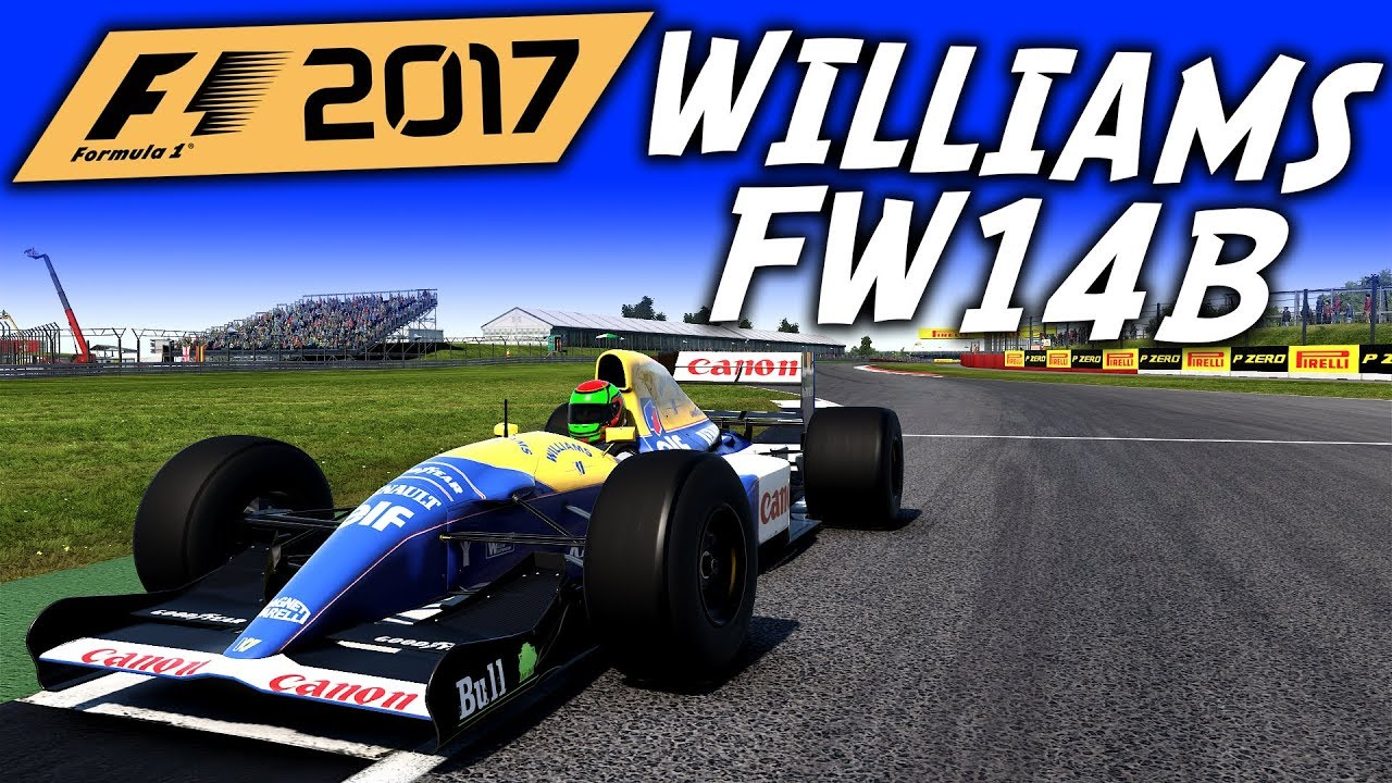 f1 2017 williams fw14b at silverstone f1 2017 classic. Black Bedroom Furniture Sets. Home Design Ideas