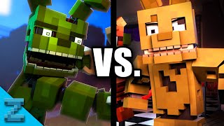 "OLD vs. NEW ""Follow Me"" (Minecraft FNAF Animated Music Video)"