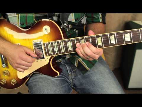 Blues Rock Lead Guitar Lessons - Fast Blues Rock Lick Guitar lesson
