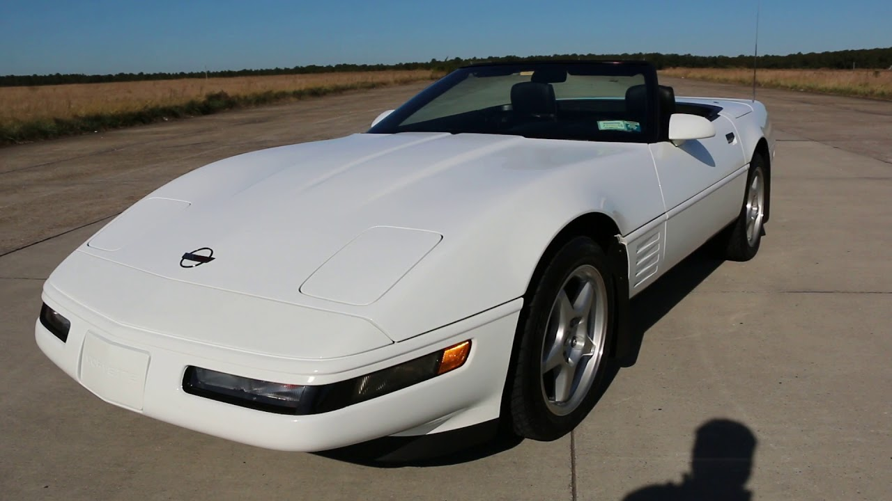 1991 Chevrolet Corvette Convertible For Sale~Ride & Handeling~All Docs~ONLY  22k Orig Miles!!