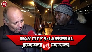 Man City 3-1 Arsenal | It Was A Mistake Leaving Ozil On The Bench! (Claude Rant)