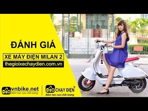 Đánh giá xe máy điện Aima Milan 2
