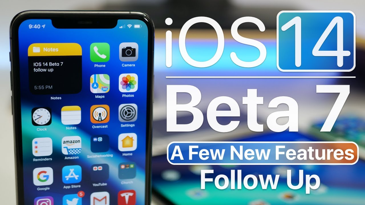 Ios 14 Beta 7 A Few New Features And Follow Up Youtube