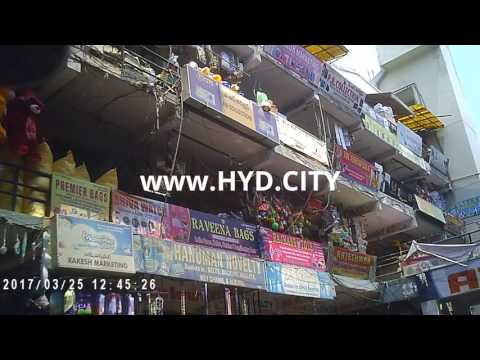 Famous Aziz Plaza the Gifts and crazy Novelty Wholesale and Retail Complex hyderabad India