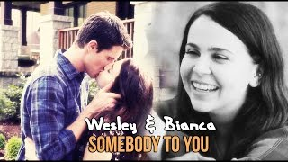 wesley & bianca; somebody to you [the DUFF]