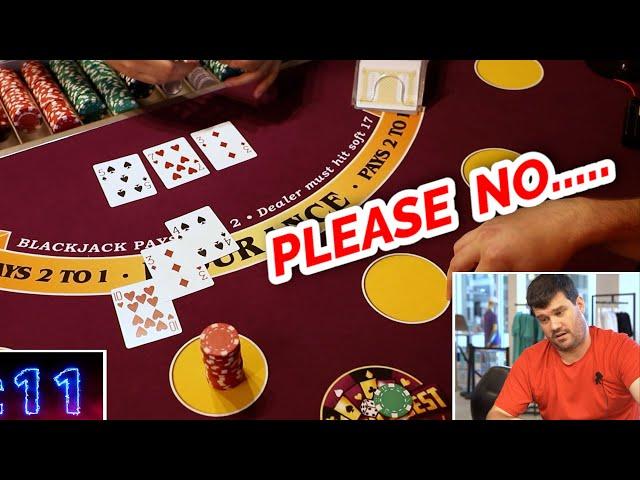 🔥 BIG RISK BUT....🔥10 Minute Blackjack Challenge - WIN BIG or BUST #103