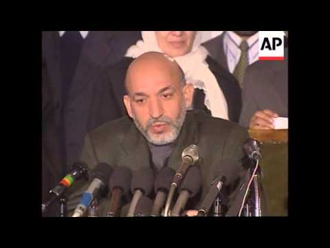 Afghan leader on shooting, assassination and instability