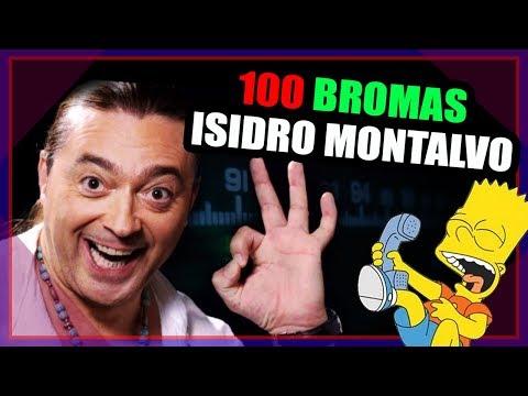 😂 100 Bromas Telefónicas | Isidro Montalvo [2019]